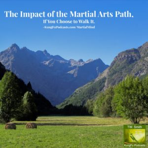Martial Mind : The Impact of Walking the Path