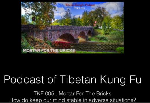 Bricks for the Mortar