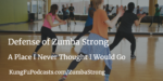 Defense of Zumba Strong